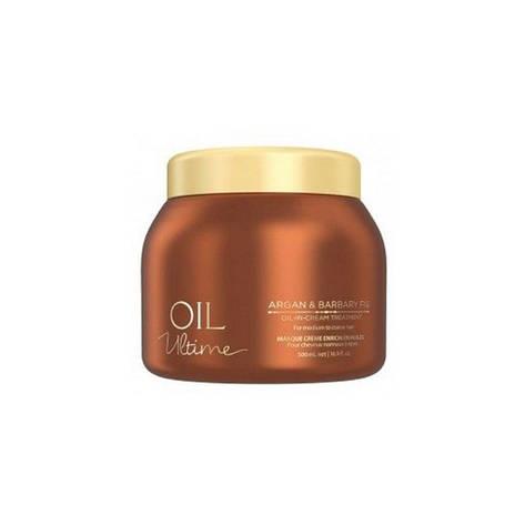 Маска для нормальных и жёстких волос с маслом арганы SCHWARZKOPF Oil Ultime Argan&Barbary Fig Oil-in 500 мл, фото 2