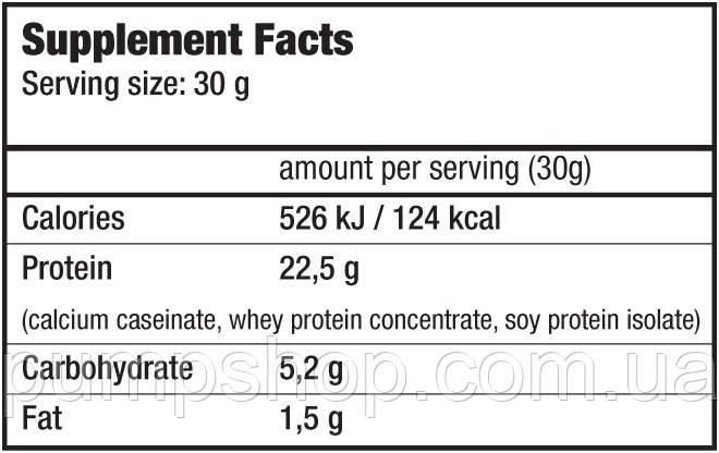 Протеїн багатокомпонентний BioTech USA Protein Powder 1000 г, фото 2