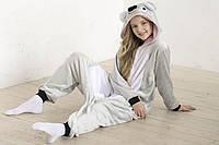 Детский костюм кигуруми коала серая kig0035