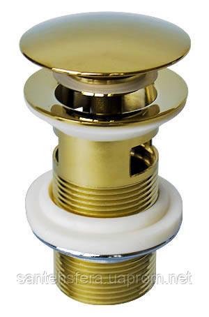 Донний клапан для раковини Welle, золото