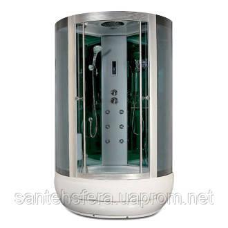 Гидробокс Miracle F35-3 с электроникой, 115 х 115 см, профиль сатин, стекло серое