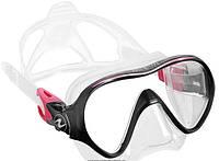 Маска для плавания AquaLung Linea; розовая