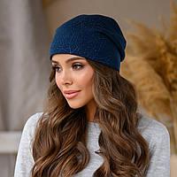 """Женская шапка LaVisio """"Дина"""" 645-003 синий"""