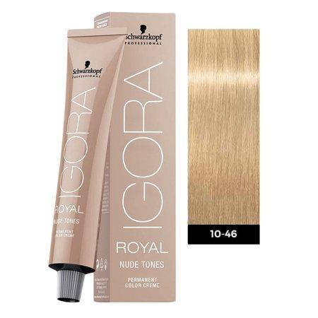 Краска для волос Schwarzkopf Igora Royal Nudes 60 мл 10-46 Экстра светлый блондин бежевый шоколадный, фото 2