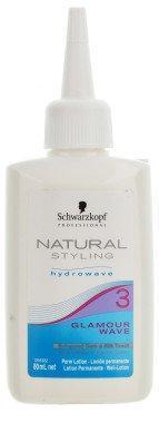 Лосьон для химической завивки обесцвеченных волос №3 SCHWARZKOPF Natural Styling Glamour Wave Perm Lotion 3