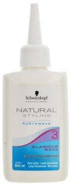 Лосьон для химической завивки обесцвеченных волос №3 SCHWARZKOPF Natural Styling Glamour Wave Perm Lotion 3, фото 2