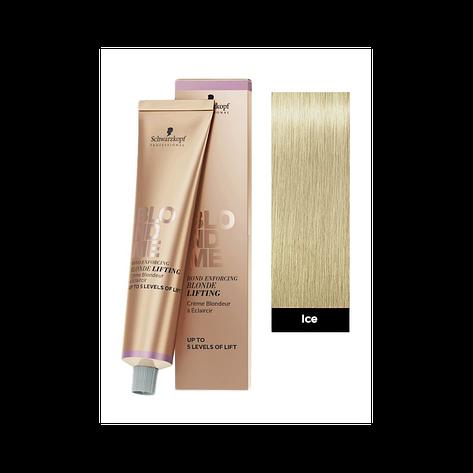 Осветляющая краска для светлых волос SCHWARZKOPF Blond Me Blonde Lifting 60 мл Ice - Ледяной, фото 2