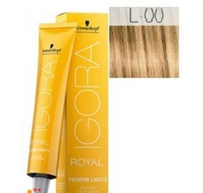 Краска для волос Schwarzkopf Igora Royal Fashion Light 60 мл  L-00 Натуральный экстра, фото 2