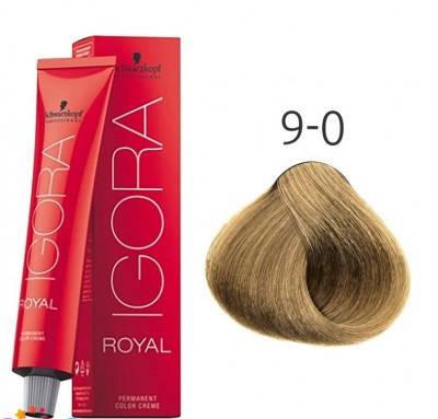 Краска для волос Schwarzkopf Professional Igora Royal 60 мл 9-0 Блондин натуральный, фото 2
