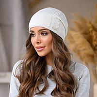 """Женская шапка LaVisio """"Рафаэль"""" 533-001 белый"""