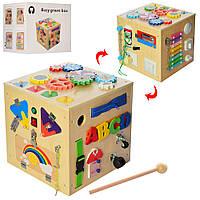 Деревянная игрушка  Бизиборд MD 2135  BAMBI