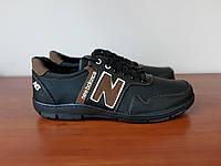 Чоловічі кросівки чорні зручні прошиті ( код 198 ), фото 1