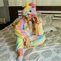Пижама кигуруми радужный единорог kig0024, фото 1