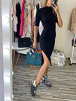 "Платье брендовое ""Баленсиага"" черное размер S, M"