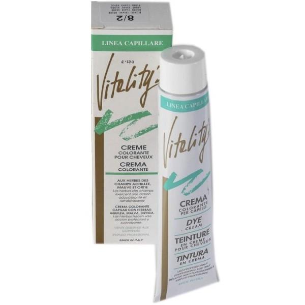 Стійка фарба для волосся з екстрактами трав vitality's Collection 100мл