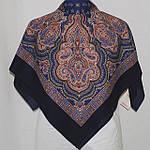 """Платок шерстяной с оверлоком """"Искорка"""", 89x89 см рис.1077-13, фото 3"""