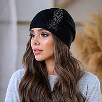 """Женская шапка LaVisio """"Шейла"""" 650-002 черный"""