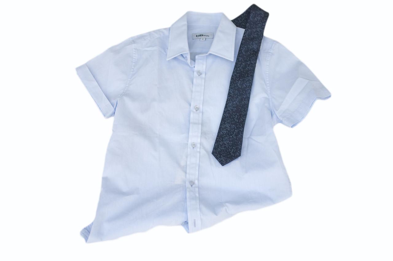 Детская рубашка для мальчика Школьная форма для мальчиков BD Kids Италия 1670