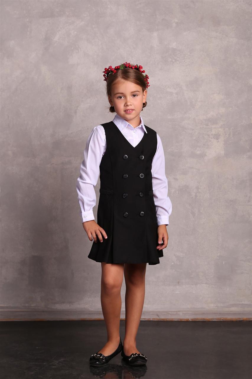 Школьный сарафан для девочки Школьная форма для девочек ПромАтельеСервис Украины НИКА