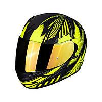 Мотошлем Scorpion EXO-390 Pop (жёлтый)