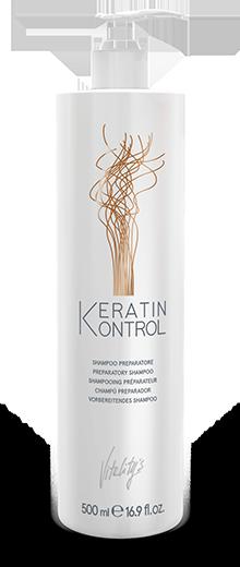 Подготавливающий шампунь VITALITY'S Keratin Kontrol Preparatory Shampoo 500 мл