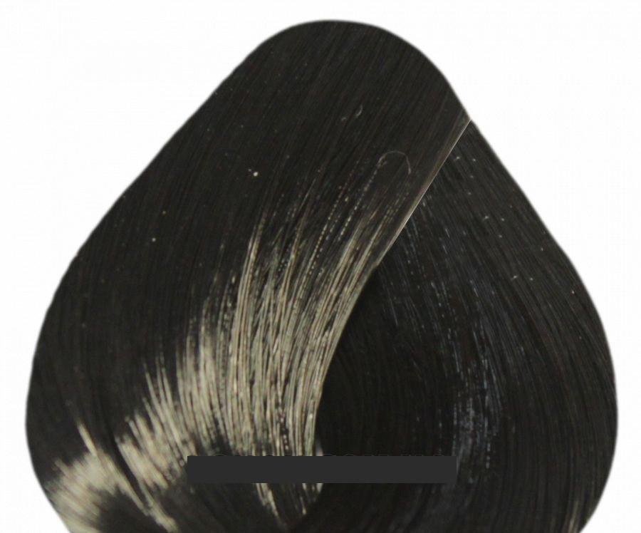 Краска для волос Vitality's CREMA COLOR 100мл 2/0 - Чёрный