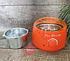 Оранжевый баночный воскоплав  Pro-Wax 100, 400 мл