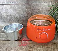 Оранжевый баночный воскоплав  Pro-Wax 100, 400 мл, фото 1