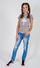 Тонкие детские джинсы AYUYGI Турция 9033