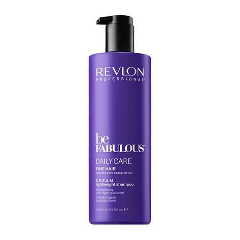 Шампунь для тонких волос Revlon Professional Be Fabulous Daily Care Lightweight Shampoo 1000 мл, фото 2