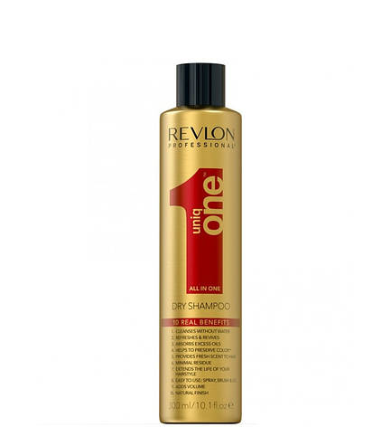 Сухой шампунь для волос Revlon Professional Uniq One All in One Dry Shampoo 300 мл, фото 2