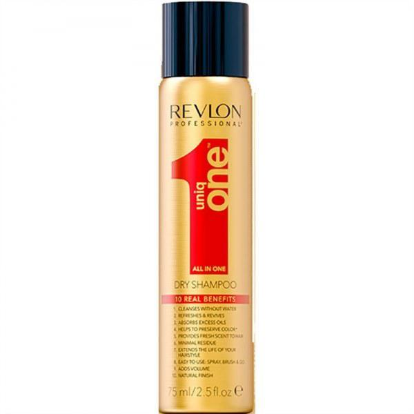 Сухой шампунь для волос Revlon Professional Uniq One All in One Dry Shampoo 75 мл