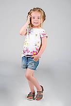 Детские шорты для девочки Melby Италия 14041587 Синий