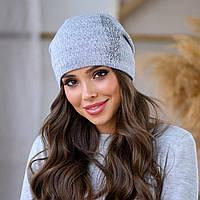 """Женская шапка LaVisio """"Шейла"""" 650-017 серый"""