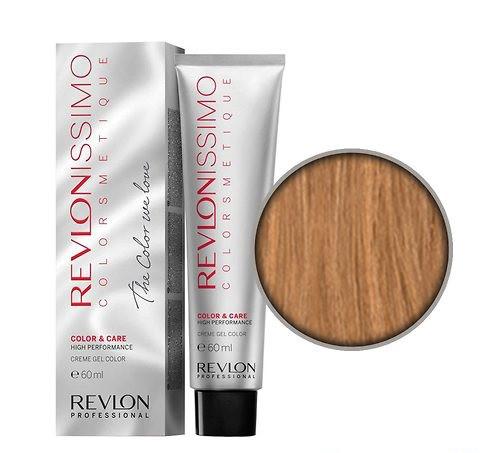 Краска для волос REVLON Revlonissimo Colorsmetique  60 мл №8.34 Светлый Золотисто-Медный Блонд