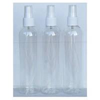 Бутылочка пластиковая прозрачная спрей 150мл