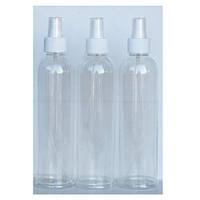 Бутылочка пластиковая прозрачная спрей 200мл