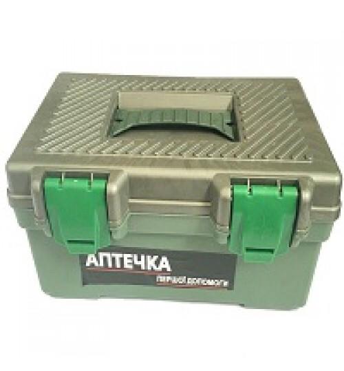 Аптечка автомобильная AMA-2 автобус до 18 чел. (чемодан Серый)