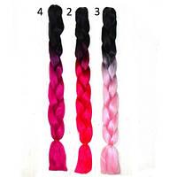 Волосы канекалон (коса) 18 цветов, фото 1