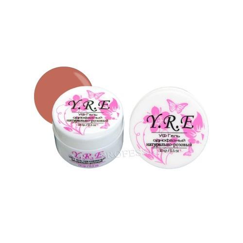 Гель однофазный YRE натурально-розовый