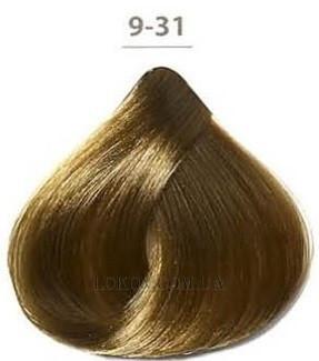 Стойкая гелевая краска DUCASTEL Subtil Gel 50мл 9.31 - Золотисто-пепельный очень светлый блондин