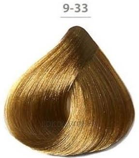 Стойкая гелевая краска DUCASTEL Subtil Gel 50мл 9.33 - Золотистый насыщенный очень светлый блондин