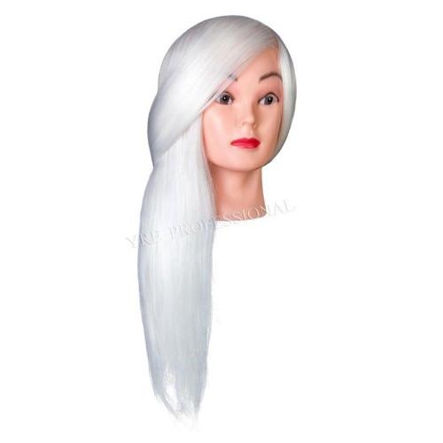 Голова для моделирования 18DY-RW искусственные термо светлые белые
