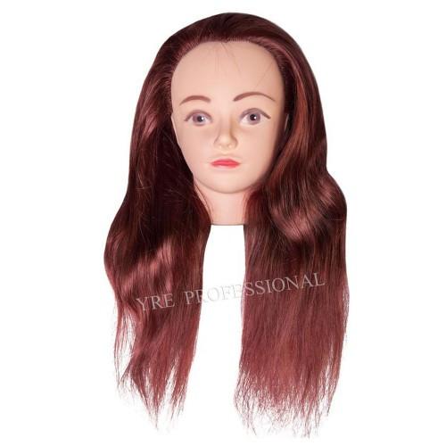 Голова для моделирования 4-N-350 искусственные коричневые