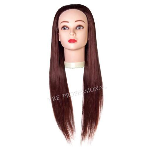 Голова для моделирования 528-33# (986) искусственные термо коричневые