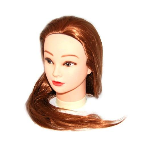 Голова для моделирования 528-30В искусственные термо коричневые