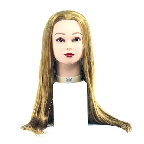 Голова для моделирования НТ-ЕТ-27(986) искусственные термо русые 65см