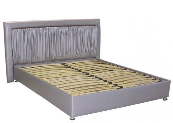 Кровать - подиум с изголовьем №2, Купить двуспальную кровать