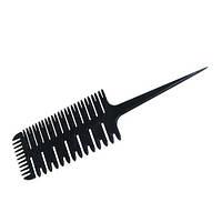 Гребень для волос для мелирования (трехсторонний)