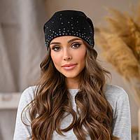 """Женская шапка LaVisio """"Офелия"""" 646-002 черный"""